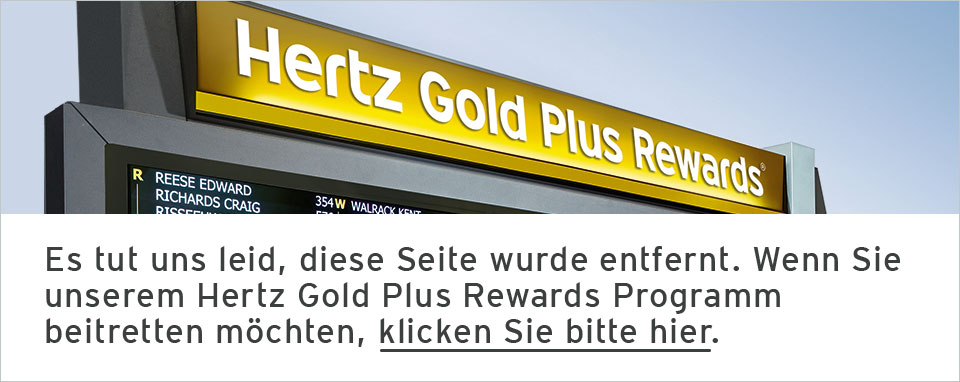 Hertz #1 Club Gold